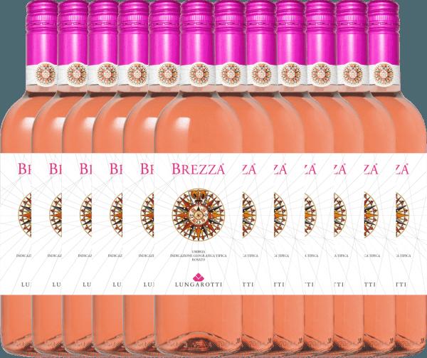 12er Vorteils-Weinpaket - Brezza Rosa Umbria 2020 - Lungarotti