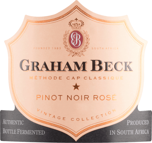 Cap Classique Brut Rosé Vintage 2015 - Graham Beck von Graham Beck Wines