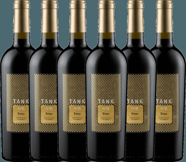 6er Vorteils-Weinpaket TANK No 11 Syrah Appassimento 2019 - Cantine Minini