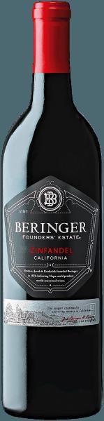 Zinfandel Founders' Estate WO California 2018 - Beringer