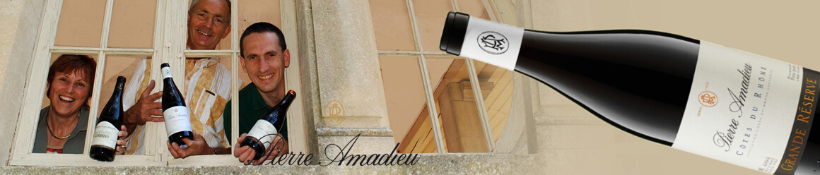 Rotweincuvées von Pierre Amadieu