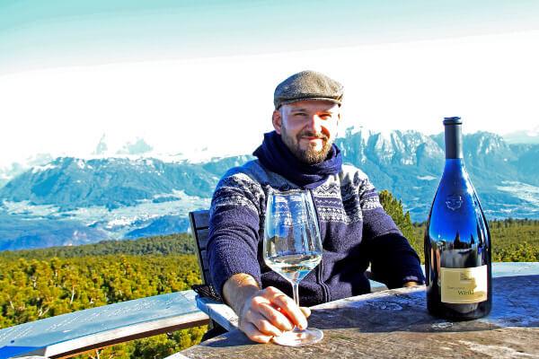 Auf dem Rittner Horn mit Magnum Winkl und bestem Panorama-Blick