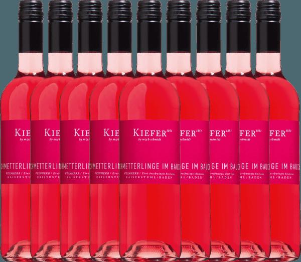 9er Vorteils-Weinpaket - Schmetterlinge im Bauch Rosé 2020 - Weingut Kiefer