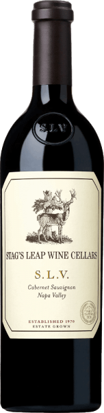 The S.L.V. Cabernet Sauvignon from Stag's Leap Wine Cellars is an outstanding, excellent red wine from the American wine-growing region Napa Valley. The abbreviation S.L.V. stands for Stag's Leap Vineyards - this is the first vineyard planted by this estate in 1970.  In the glass this wine shines in a rich purple red with a subtle violet shimmer. The multi-layered bouquet is carried by intense aromas of ripe dark fruits - especially blackberry, blackcurrant, blueberry, boysenberry and black cherry. Spicy, vegetarian notes of black tea, cocoa and dark chocolate are added. The palate is pampered by an opulent, powerful body with a fleshy texture. This American red wine is wonderfully concentrated and carried by perfectly structured tannins. The aromas of the nose harmonize excellently with the pleasant minerality. The finish has an elegant, balanced length. Vinification of Stag's Leap Cabernet S.L.V. The Cabernet Sauvignon grapes for this red wine come from the first vineyard of Stag's Leap Wine Cellars. The berries are harvested by hand in September and are already strictly selected in the vineyard. The grapes are first fermented in stainless steel tanks in the wine cellar and the mash then undergoes complete malolactic fermentation. After the fermentation process is completed, this wine is aged in small French oak barrels for a total of 22 months. Of the wooden barrels used, 95% are new wood and the remaining 5% are from first occupancy. Food recommendation for the Cabernet Sauvignon Stag's Leap Wine Cellars S.L.V. This dry red wine from the USA is an excellent accompaniment to tender pork loin in mustard parmesan crust, beef fillet with fresh herb butter on potato celery stomp or also to spicy risotto variations. We recommend that you decant this wine for at least 2 hours before drinking it. Awards for the S.L.V. Cabernet Stag's Leap Wine Cellars Robert M. Parker - The Wine Advocate: 93-95 points for 2014