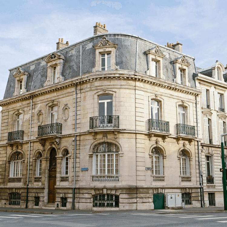 Das Haus von Champagne Rothschild in Reims