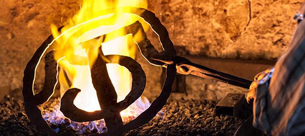 Eisen als Symbol für das Handwerk