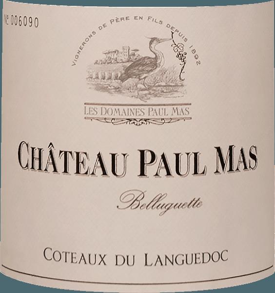 Belluguette Languedoc AOP 2017 - Château Paul Mas von Domaine Paul Mas