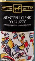 Vorschau: Montepulciano d'Abruzzo DOC 2018 - Tenuta Ulisse