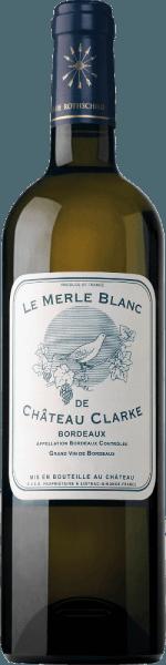 Le Merle Blanc de Château Clarke 2018 - Baron Edmond de Rothschild