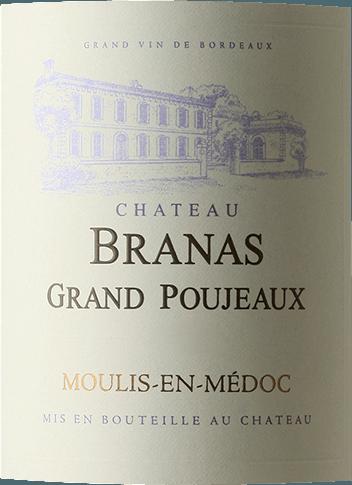 Cru Bourgeois Moulis-en-Médoc AOC 2012 - Château Branas Grand Poujeaux von Château Branas Grand Poujeaux