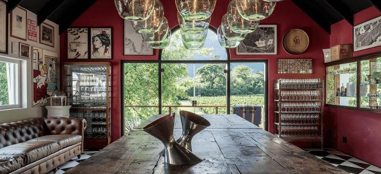 The Boekenhoutskloof tasting room