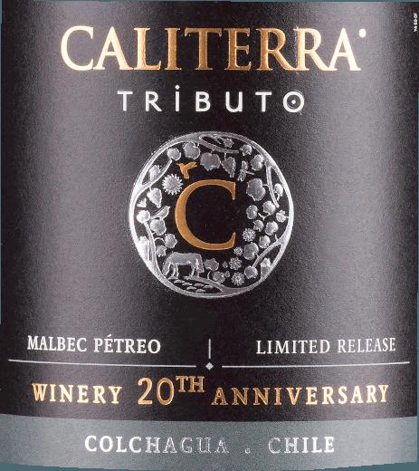 Tributo Malbec Petreo Single vineyard Colchagua Valley DO 2015 - Caliterra von Caliterra