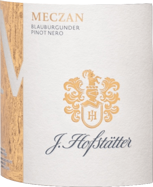Meczan Blauburgunder Pinot Nero Südtiroler DOC 2018 - J. Hofstätter von Tenuta J. Hofstätter