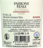 Vorschau: Passione Reale Appassimento Puglia IGT 2018 - Torrevento