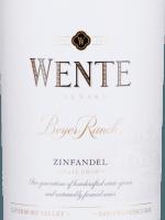 Vorschau: Beyer Ranch Zinfandel 2016 - Wente Vineyards