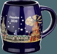Mulled wine mug - Christmas market at the Frauenkirche Dresden 2020