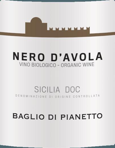 Nero d'Avola Biologica Sicilia DOC 2018 - Baglio di Pianetto von Baglio di Pianetto