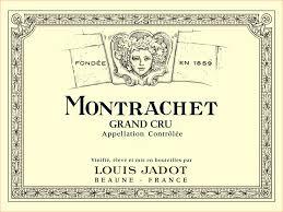 Louis Jadot Montrachet Etikett
