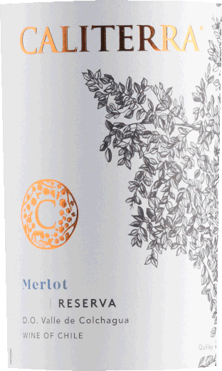 Merlot Reserva Colchagua Valley DO 2018 - Caliterra von Caliterra