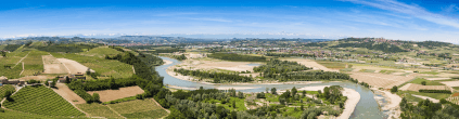 Panorama of Barbaresco