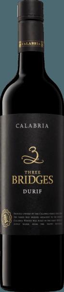 Three Bridges Durif 2017 - Calabria Family Wines