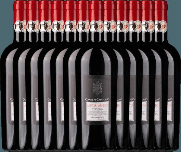 12er Vorteils-Weinpaket - Appassimento 2017 - Conte di Campiano