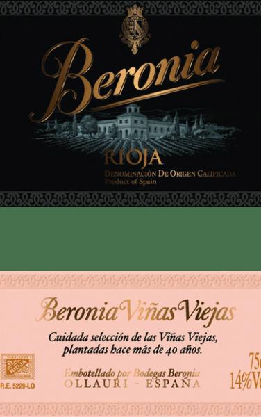 """Aus dem berühmten spanischen Anbaugebiet Rioja stammt dieser rebsortenreineVinas Viejas Rioja von Beronia. In einer tiefdunklen Pflaumenfarbe mit schwarzem Kern schimmert dieser Wein im Glas. Das ausdrucksstarke Bouquet wird von Aromen nach reifen Zwetschgen, saftigen Schattenmorellen und Brombeeren bestimmt. Unterlegt werden die Aromen der Nase von geröstetem Kaffee, Süßholz und etwas Würze Die dunkle Frucht ist auch deutlich am vollmundigen Gaumen spürbar. Die saftige, fleischige Textur harmoniert perfekt mit der wundervollen Frische und ausgewogenen Struktur. Das lang anhaltende Finale wird von einem Hauch Minze begleitet. Vinifikation des Beronia Reserva Mazuelo Die Tempranillo-Trauben für diesen spanischen Rotwein stammen von mehr als 50-jährigen Rebstöcken. Sobald das Lesegut im Weinkeller angekommen wird, werden die Trauben zunächst für einige Tage kalt eingemaischt. Nach der Kaltmazeration erfolgt die alkoholische Gärung bei kontrollierter Temperatur von 26 Grad Celsius im Edelstahltank. Dabei wird die Maische regelmäßig umgepumpt. Dadurch wird der Maische Sauerstoff zugeführt, wodurch die Tannine besänftigt werden und auch die Farbpigmente, sowie die wundervolle Aromenvielfalt sich perfekt entfalten können. Die malolaktische Gärung wird bei diesem Wein in Fässern aus französischer Eiche vorgenommen. Dies trägt auch dazu bei, dass dieser Wein seine tiefdunkle Farbe und die typischen Aromen gewinnt. Für insgesamt 7 Monate wird dann dieser spanische Wein in """"gemischten"""" Fässern ausgebaut - diese Fässer wurden speziell für die Bodegas Beronia angefertigt und bestehen sowohl aus amerikanischer, als auch französischer Eiche. Abschließend ruht dieser Rotwein für 6 Monate nach der Abfüllung auf der Flasche. Speiseempfehlung für den Rioja Mazuelo Reserva von Beronia Dieser trockene Rotwein aus Spanien ist der ideale Speisebegleiter zu gemütlichen Grillabenden mit frisch gegrilltem Fleisch, würzigen Pasteten oder auch zu spanischen Wurst- und Schinkenspezialitäten."""