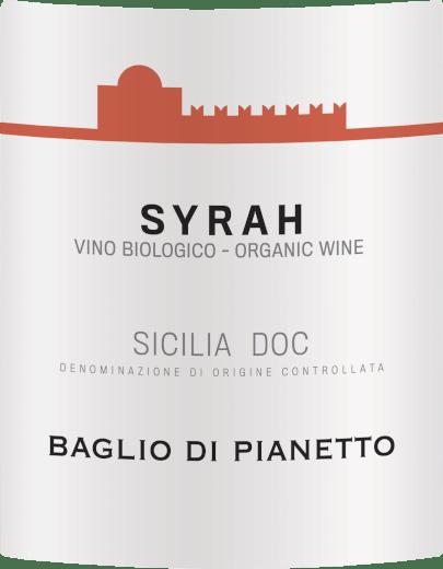 Syrah Biologica Sicilia DOC 2017 - Baglio di Pianetto von Baglio di Pianetto