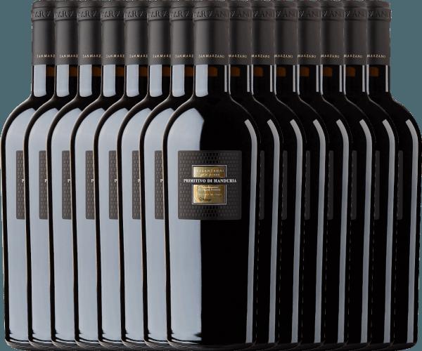 15er Vorteils-Weinpaket - Sessantanni Primitivo di Manduria DOC 2017 - Cantine San Marzano