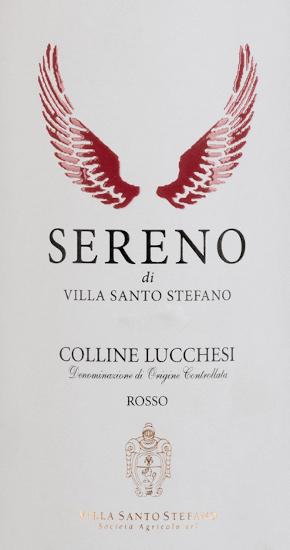 Sereno Rosso Toscana DOC 2016 - Villa Santo Stefano von Villa Santo Stefano