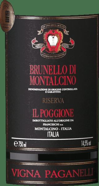 Vigna Paganelli Brunello di Montalcino Riserva DOCG 1,5 l Magnum in Wooden Case 2012 - Tenuta il Poggione von Tenuta Il Poggione