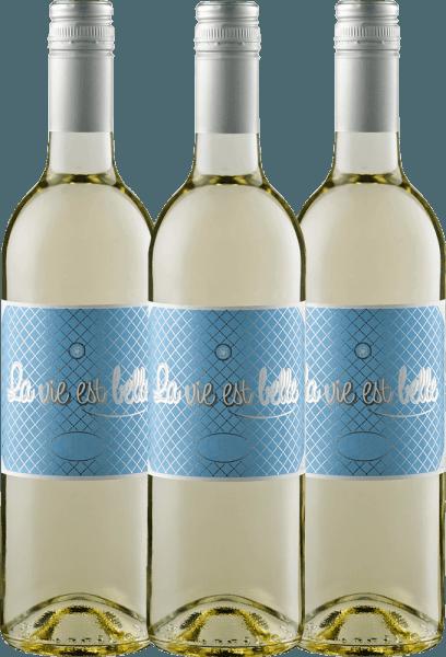 3er Vorteils-Weinpaket - La vie est belle blanc 2020 - La vie est belle