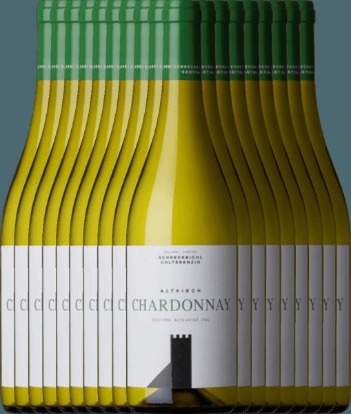 18er Vorteilspaket - Chardonnay Altkirch 2020 - Kellerei Schreckbichl