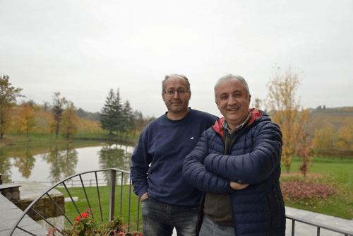 Die Winzer Guido und Paolo Sartirano
