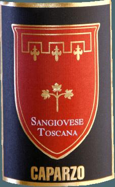 Im Glas leuchtet Sangiovese Toscana IGT von Caparzo aus dem Süden der Toskana in einer strahlenden rubinroten Farbe. Noten nach schwarzen Brombeeren, reifen Herzkirschen, frisch gemahlener Pfeffer und ein dezenter Hauch Vanille umschmeicheln die Nase. Am Gaumen verzaubert dieser Wein mit einer wunderbaren Struktur, feinem Tannin und Noten nach reifen Beerenfrüchte. Das Finale überzeugt mit angenehmer Länge und fein-würzigen, vanilligen Anklängen. Vinifikation des Sangiovese Toscana von Caparzo Eine Önologien und 3 Weingüter. Das ist die Formel für den Sangiovese von Caparzo. Elisabetta Gnudi Angelini vinifiziert die Sangiovese Trauben aus den 3 Weingütern Caparzo, Borgo Scopeto und Doga delle Clavule. Das historische Familienwappen auf dem Etikett verkörpert mit den 3 Rosen eben diese 3 Weingüter. Die Reben werden nach der Herkunft seperat vinifiziert. Der größte Teil der Trauben erhält eine 15 tägige Maischestandzeit, der kleinere Teil wird einer Kaltmazeration für 48 Stunden unterzogen. Dies fördert die Primäraromatik wie dunkle Beeren. Die Gärung dautert am Ende 7 Tage bei konstanten 25°C. Speiseempfehlung für den Sangiovese Toscana von Caparzo Genießen Sie diesen trockenen Rotwein aus Italien zu italienischer Küche - angefangen von Antipasti über klassischen Pizzavariationen bis hin zu würzigen Pasta-Gerichten.