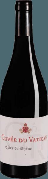 Côtes du Rhône AOC 2018 - Cuvée du Vatican von Chateau Sixtine