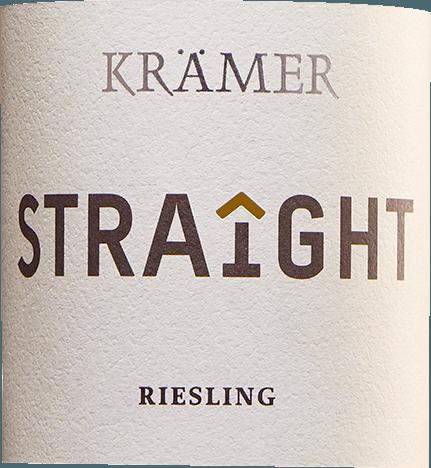 Krämer Straight Riesling trocken 2019 - Tobias Krämer von Tobias Krämer