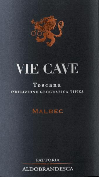 Der Vie Cave Toscana IGT vom Fattoria Aldebrandesca präsentiert sich in sehr intensivem Rubinrot im Glas. An der Nase eröffnet sich ein komplexes Bouquet mit Duftnoten von reifen, dunklen Früchten, die sich sanft abwechseln mit würzigen Aromen, Süßholz, Kaffe und weichen Vanillenoten. Seidig, einnehmend und von schöner Ausgewogenheit und Nachhaltigkeit am Gaumen, im langen Nachhall erscheinen wieder Anklänge reifer, dunkler Früchte, sowie Kaffee und Lakritz. Vinifikation des Vie Cave Toscana IGT von Fattoria Aldebrandesca Dieser Rotwein ist den Höhlengängen gewidmet, alten im Tuffstein gehauene etruskische Gänge, die im gesamten Gebiet von Sovana ebenso wie in der Fattoria Aldebrandesca zu finden sind und ein sehr altes, verzweigtes Wegenetz preisgeben. Der Malbec, eine französische Rebsorte, die in Italien noch relativ neu ist, hat in der vulkanischen Maremma ein ideales Terroir gefunden. Die Trauben der hier vor einigen Jahren neu angelegten Reben werden optimal reif Ende September oder Anfang Oktober gelesen. Im Weinkeller werden sie entrappt und sanft gepresst und anschließend in Edelstahltanks gefüllt. Die erste Mazerationsphase findet bei niedriger Temperatur statt über 3 bis 4 Tage um die aromatischen Substanzen und die Anthocyane in den Schalen zu extrahieren, anschließend wird die Mosttemperatur erhöht damit die Hefen zugegeben werden können, die alkoholische Gärung erfolgt bei 30° zusammen mit der fortlaufenden sanften Mazeration über eine Woche, um die sanften Tanninen zu erhalten. Nach dem Abzug der Schalen wird der Wein in Barriques aus französischer Eiche umgefüllt, wo die malolaktische Gärung vollzogen wird, gefolgt von 10 Monaten Ausbau. Der Vie Cave ruht noch weitere 14 Monate in der Flasche bevor er in den Handel kommt. Speiseempfehlung für den Vie Cave Toscana IGT von Fattoria Aldebrandesca Ein fruchtiger, weicher Rotwein der sehr gut zu Fleischgerichten, zur Grillparty, zu Pasta und Reis mit herzhaften Zutaten passt. Auszeichnungen für den Vie Ca