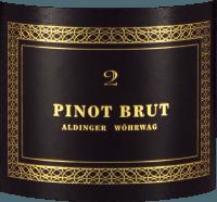 Vorschau: Pinot Brut 2 Sekt - Aldinger - Wöhrwag