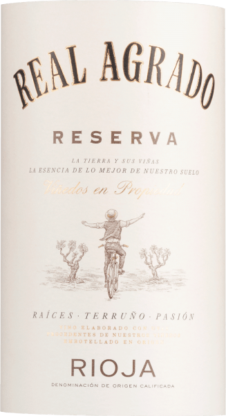 Reserva Rioja DOCa 2012 - Real Agrado von Real Agrado