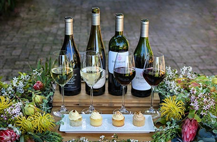 Pleasure with Delheim wines