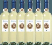 6er Vorteils-Weinpaket - Brezza Bianco Umbria 2019 - Lungarotti