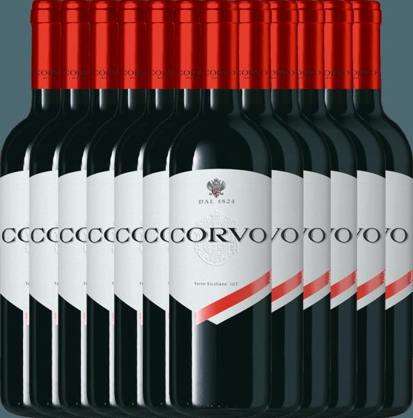 12er Vorteils-Paket - Corvo Rosso Terre Siciliane 2019 - Duca di Salaparuta