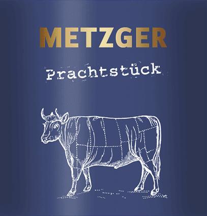 Prachtstück Cuvée Weiß KuhbA feinherb 2019 - Weingut Metzger von Weingut Metzger