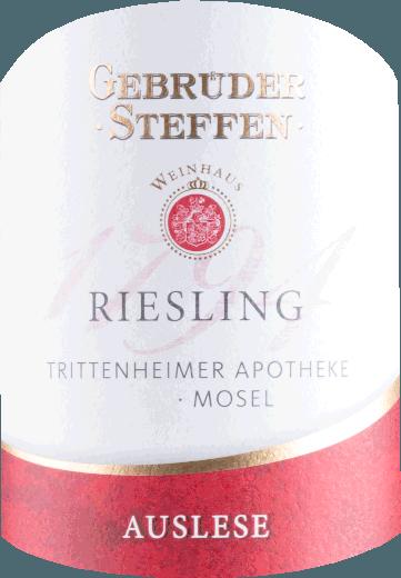 Trittenheimer Apotheke Riesling Auslese 2018 - Weinhaus Steffen von Weinhaus Gebrüder Steffen GmbH