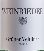 Preview: Klassik Grüner Veltliner Weinviertel DAC 2020 - Weinrieder