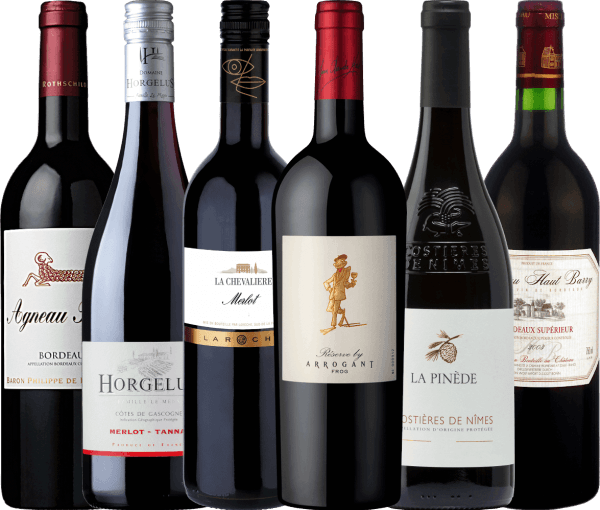 6-pack - Wonderful Red Wines from France
