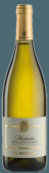 Dieser weiche, delikate und reinsortige Weißwein wird zu 100% aus der Moscato Traube vinifiziert. Er besitzt ein sortentypisches Bouquet mit duftigen Aromen von Pfirsich, Salbei und Limette, abgerundet durch feine Akaziennoten. Gut gekühlt ist er ein idealer erfrischender Sommerwein. Food Pairing / Speisenempfehlung für denMonteolivo Moscato d'Asti DOCG von BersanoDieser frische Weisswein trinkt sich ideal im Sommer gut gekühlt zu vielen Gelegenheiten.