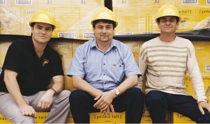 Marcello, John und Joe Casella