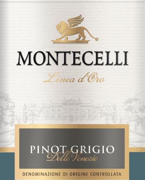 Pinot Grigio Veneto DOC 1,0 l 2019 - Montecelli von Montecelli